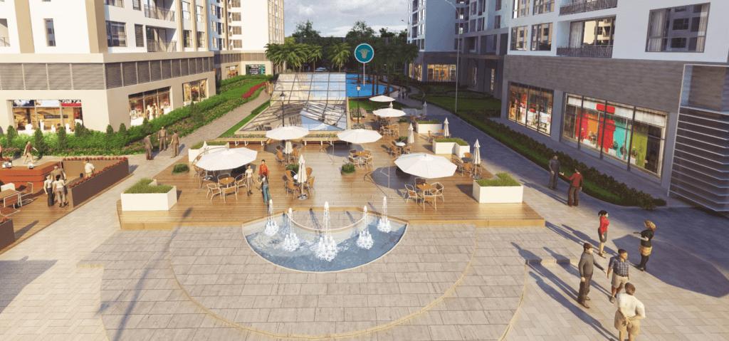 Bể bơi ngoài trời Park Hill 3D