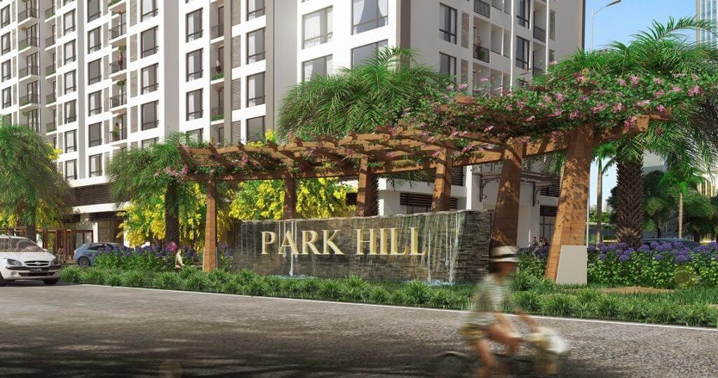 Cổng chào Park Hill 3D