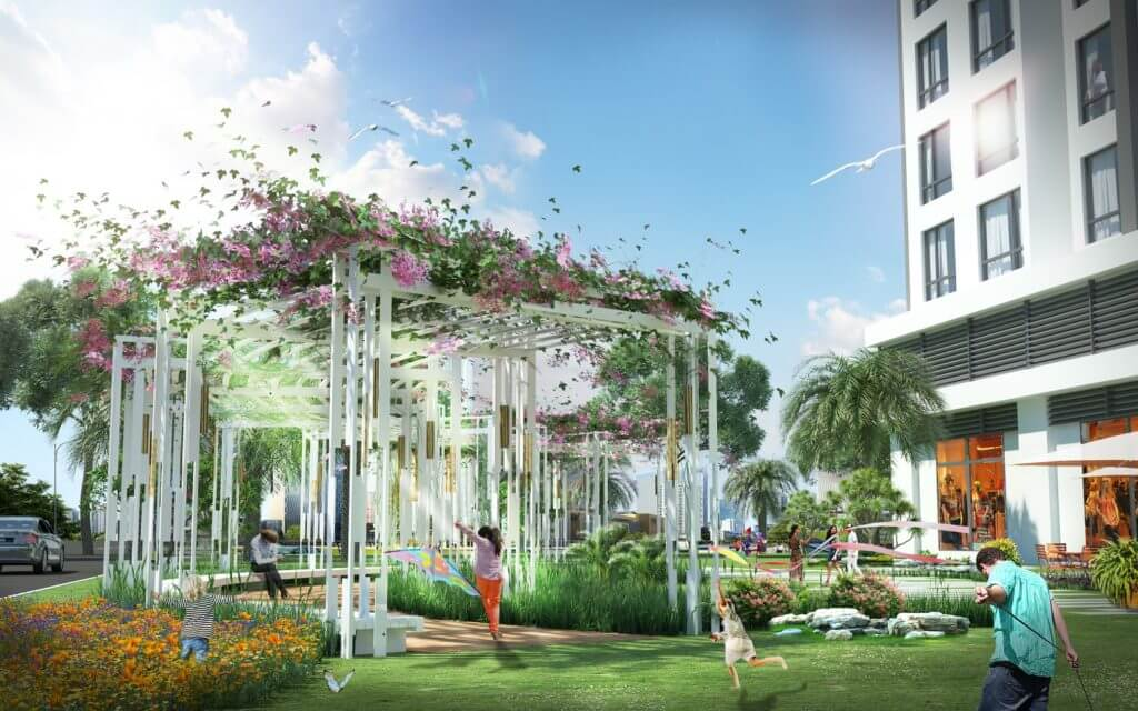 Vườn cây Park 1 3D